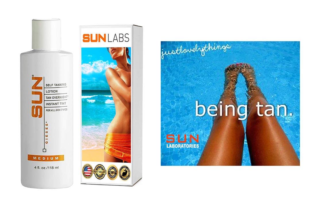 Sun Laboratories Tan Overnight Self -Tanning Lotion