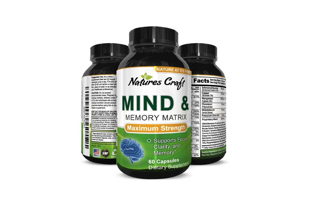 Super Potent & Natural Brain, Memory & Mind Booster
