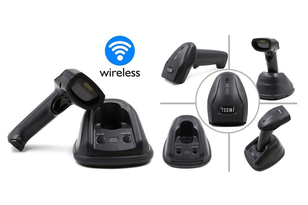 TEEMI 433Mhz Wireless Barcode Scanner