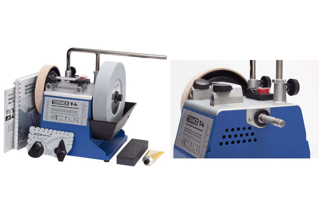 Tormek's T4 Water-Cooled Tool Sharpening System