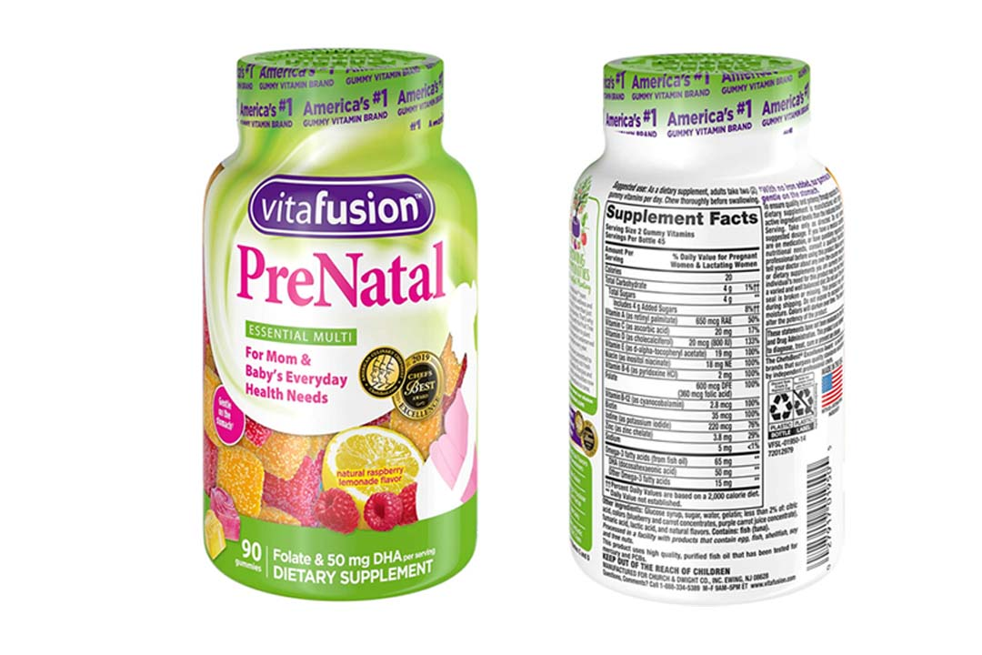 Vitafusion Prenatal, Gummy Vitamins