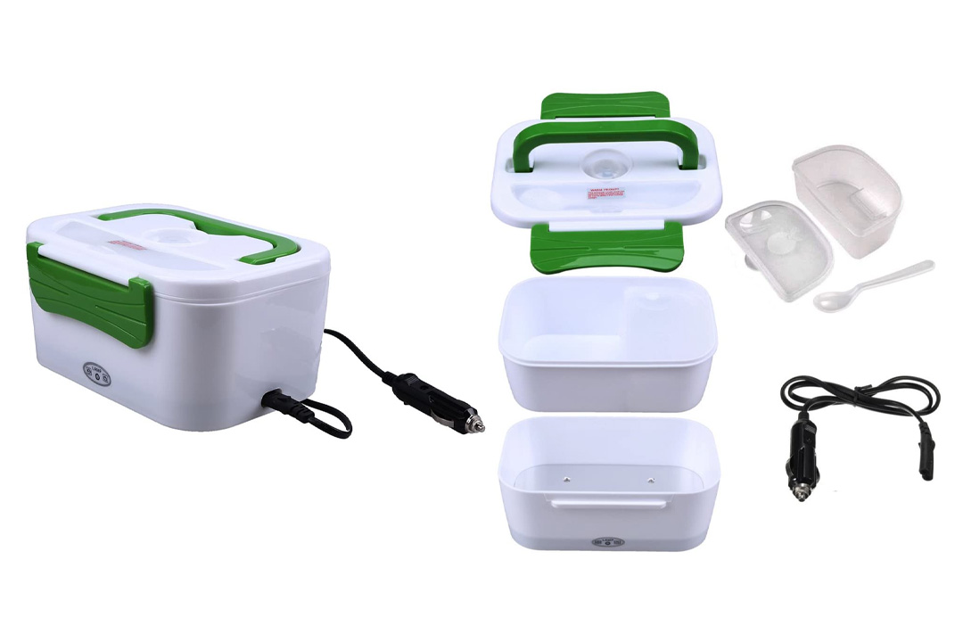WHOSEE Portable Electric Heating Lunch Box