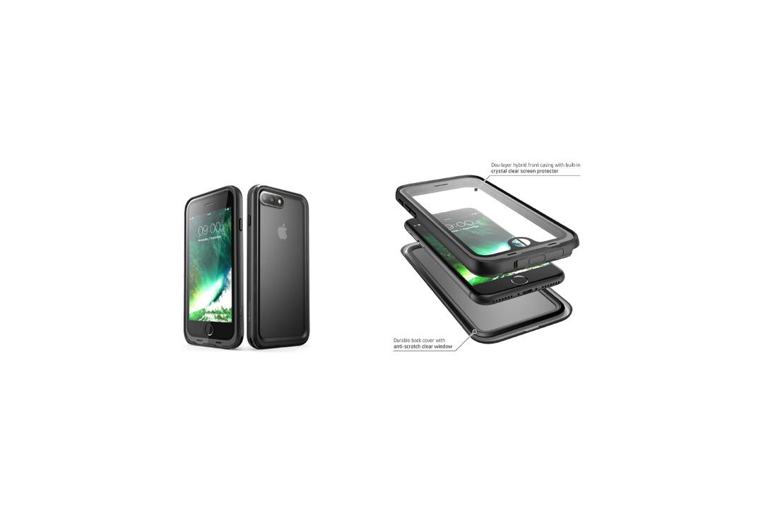 iPhone 7 Plus Case, i-Blason Waterproof Full-body Rugged Case
