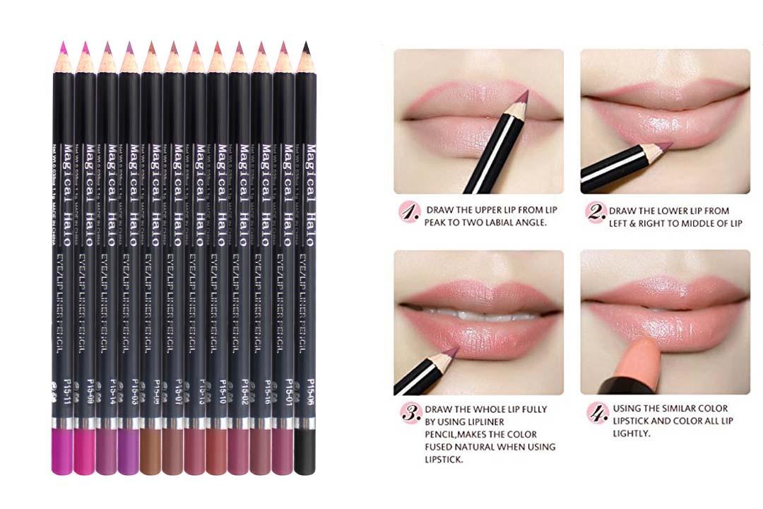 12 Chic Precision Lip liner
