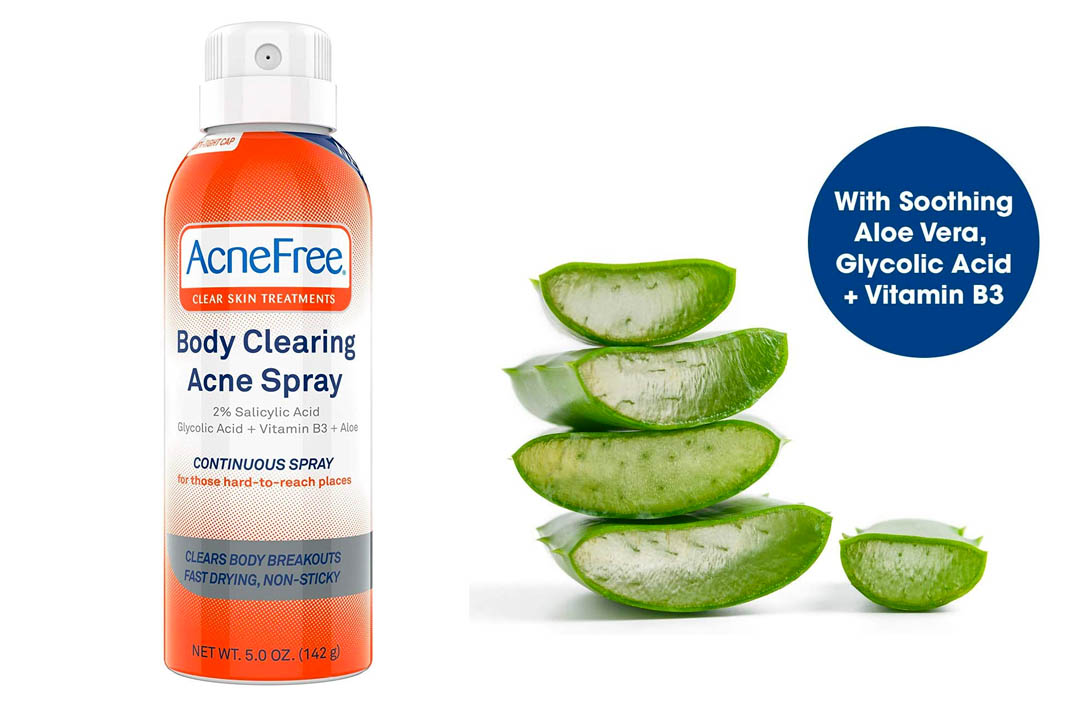 AcneFree Body Clearing Acne Spray