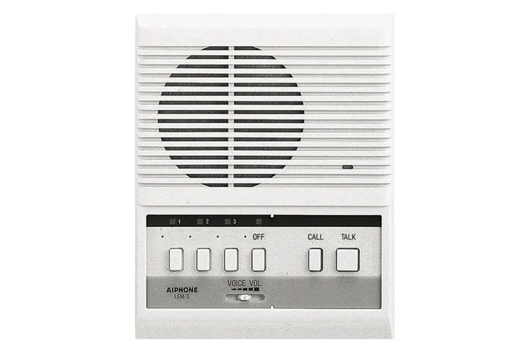 Aiphone LEM-3 Open Voice Selective Call Master Intercom