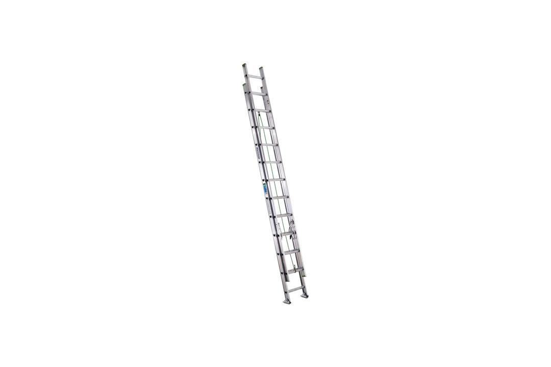 Aluminum Flat D-Rung Extension Ladder