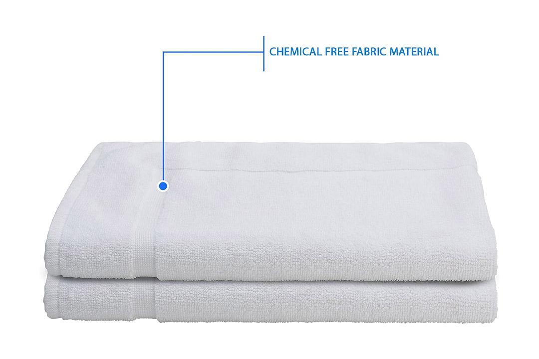 """Alurri Bath Mat Set - 2 Pack - White 20""""x30"""""""