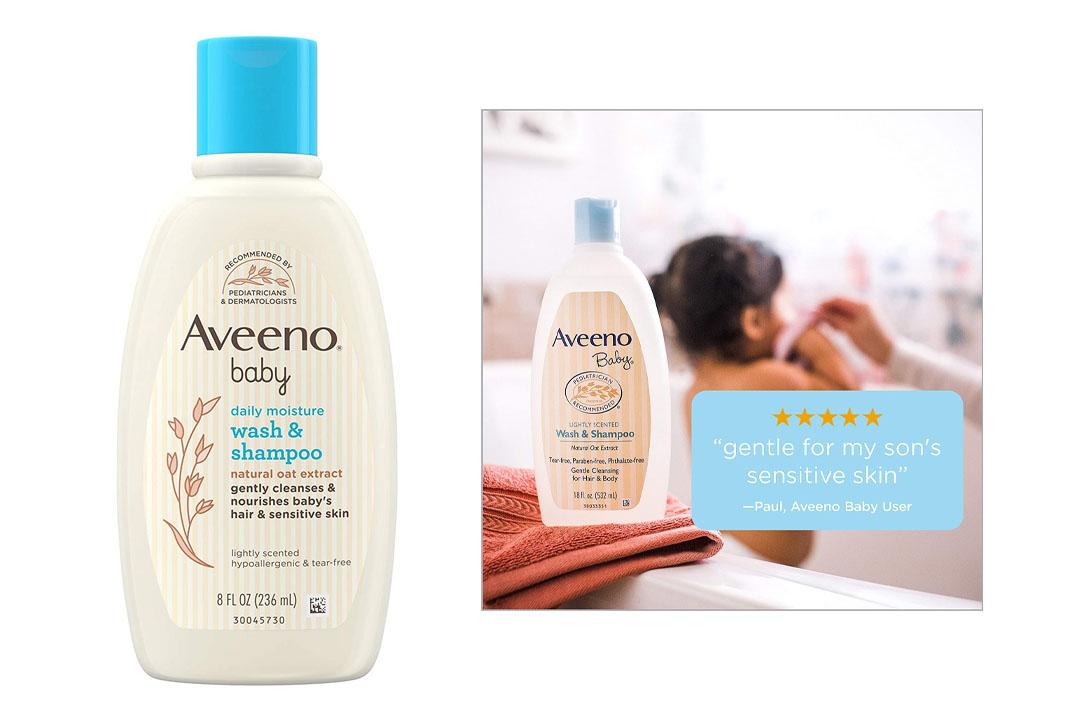 Aveeno Baby Wash & Shampoo For Hair & Body