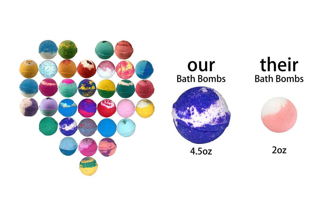 Bath Bombs 10 Wholesale Bath Bombs Similar To Lush