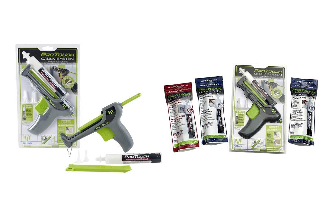 Caulk Gun, ProTouch 0574 A Better caulking System for homeowners