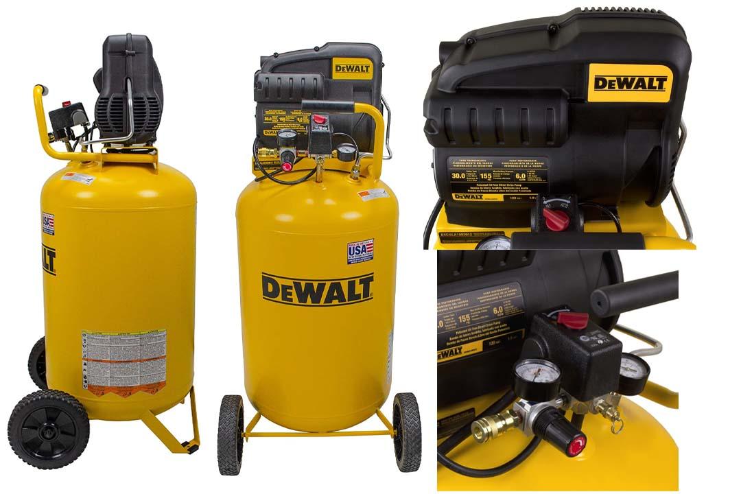 DeWalt DXCMLA1983012 Oil Free Direct Drive Air Compressor