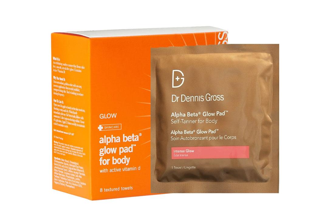 Dr. Dennis Gross Skincare Alpha Beta Glow Pad for Body