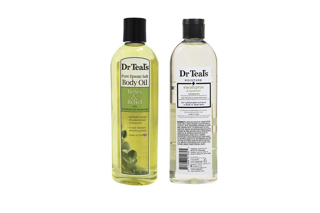Dr. Teal's Bath Additive Eucalyptus Oil, 8.8 Fluid Ounce