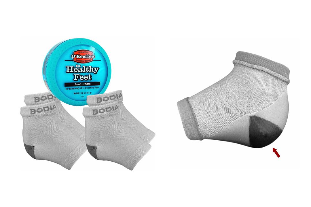 Dry Cracked Heels Repair Bundle Socks