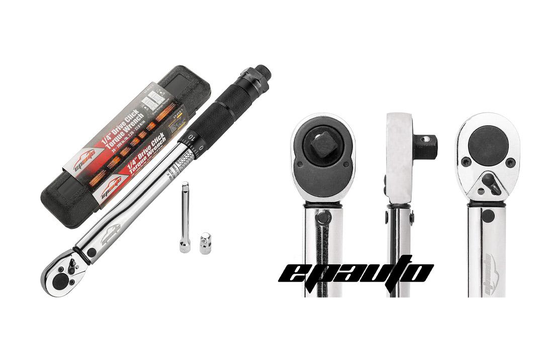 EPAuto 1/4-Inch Drive Click Torque Wrench