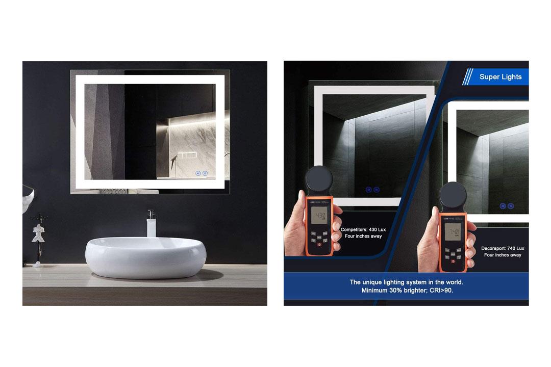 LED Wall Mounted Lighted Vanity Bathroom