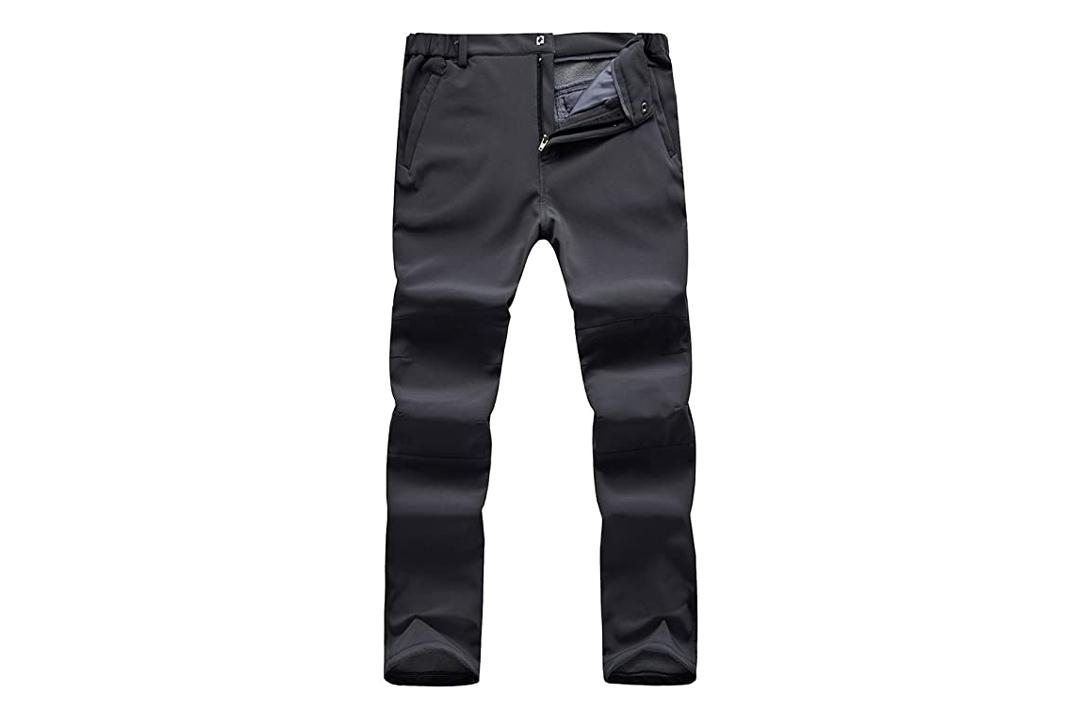 Men's Outdoor Windproof Waterproof Hiking Mountain Ski Pants