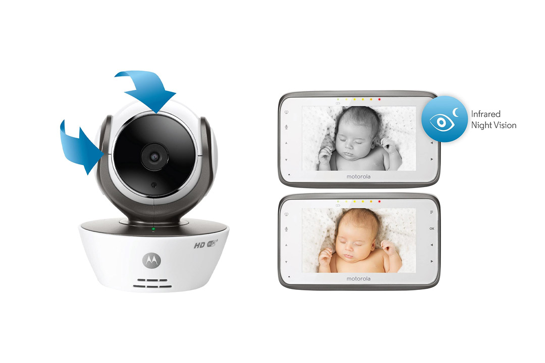 Motorola MBP853CONNECT Dual Mode Baby Monitor