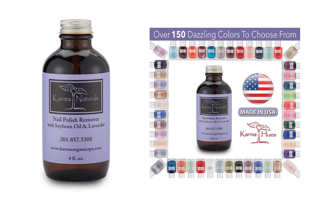 Organic Lavender Nail Polish Remover