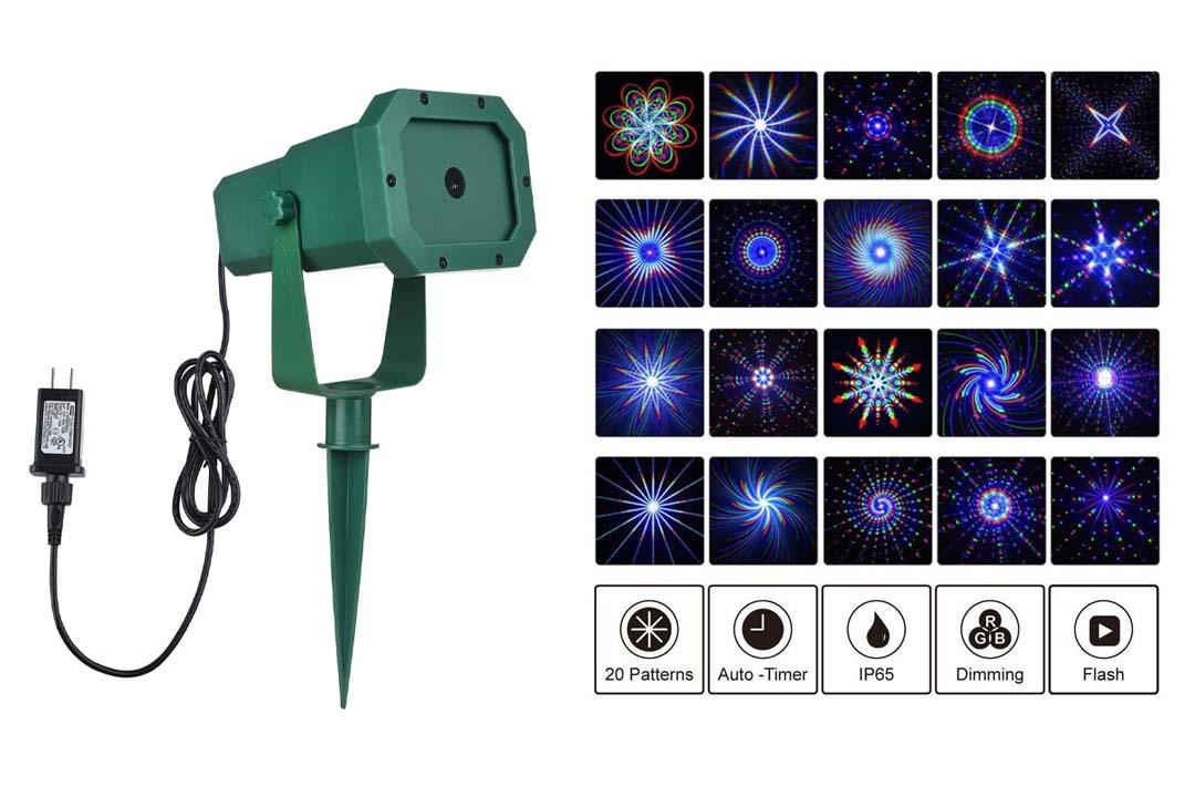Premium Christmas Outdoor Waterproof Laser Projector Light