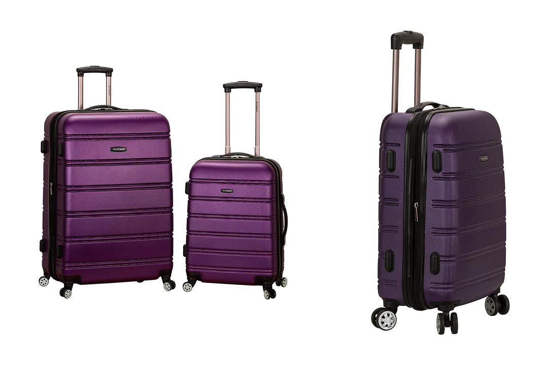 Rockland Luggage 20 Inch 28 Inch 2 Piece Expandable Spinner Set