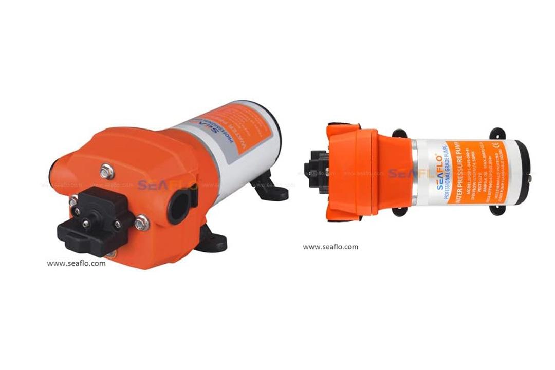 Seaflo 12V WATER PRESSURE DIAPHRAGM PUMP 4.5GPM 17 L/MIN