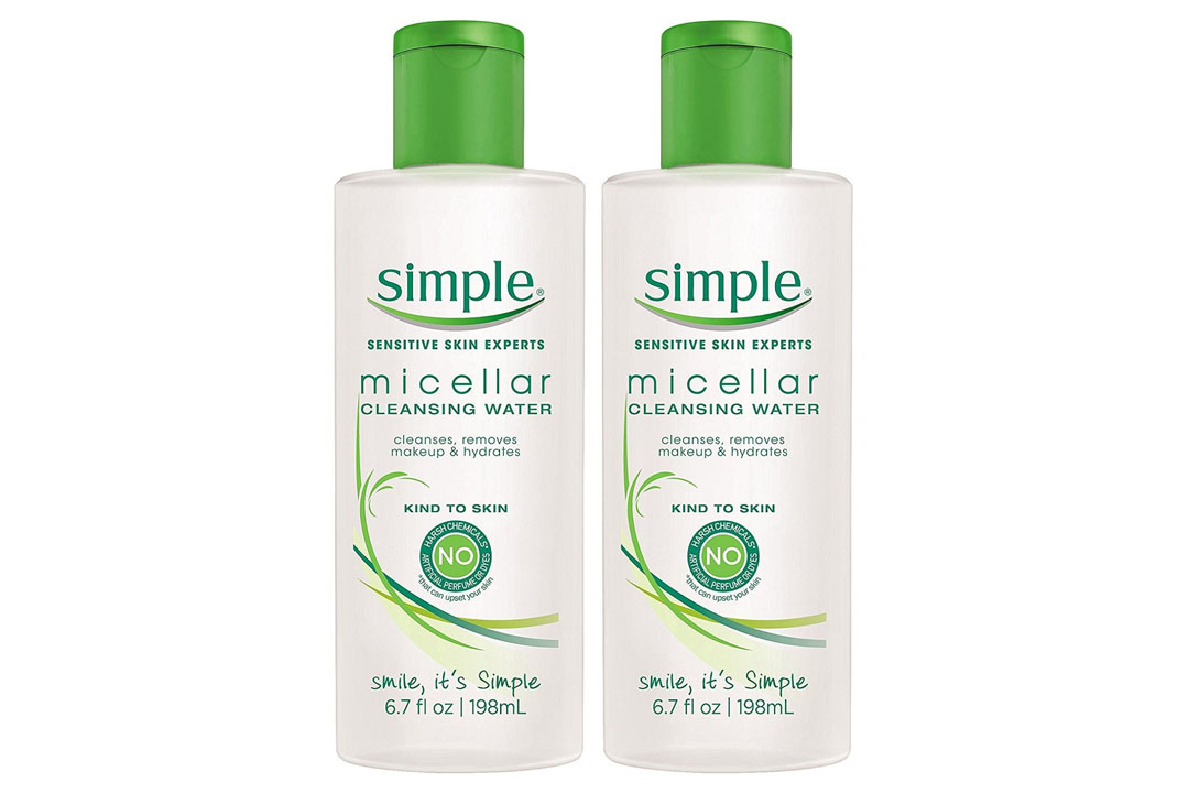 Simple Kind to Skin Cleansing Water, Micellar