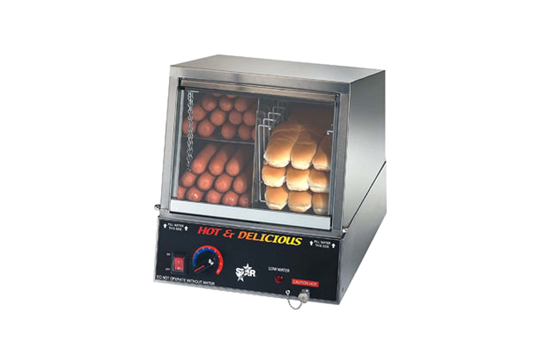 Star Hot Dog Steamer and Bun Warmer