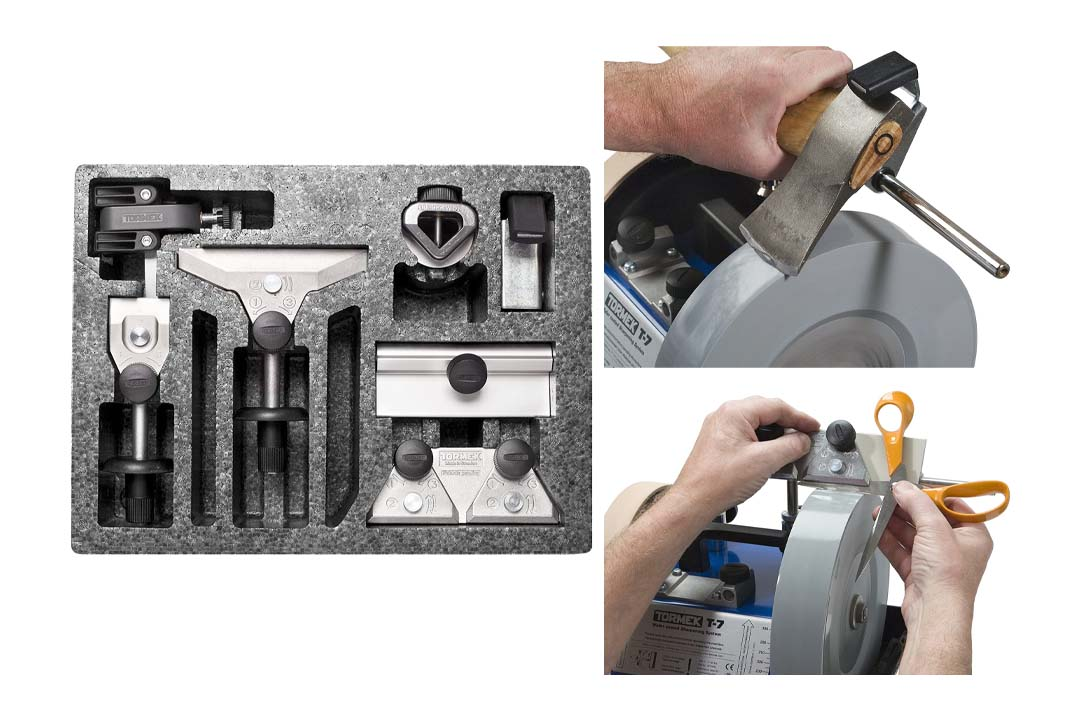 Tormek's HTK706 Complete Multi-Tool Sharpening System