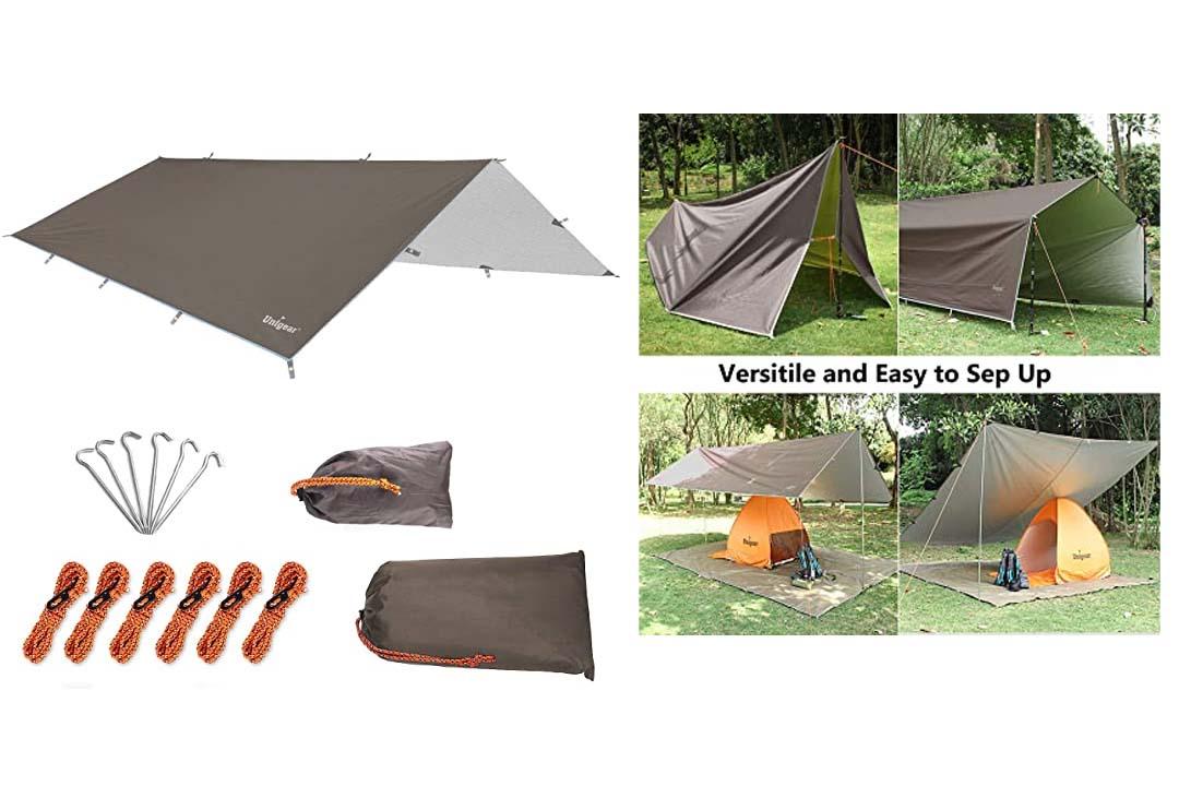 Unigear Hammock Rain Fly Waterproof Tent Tarp