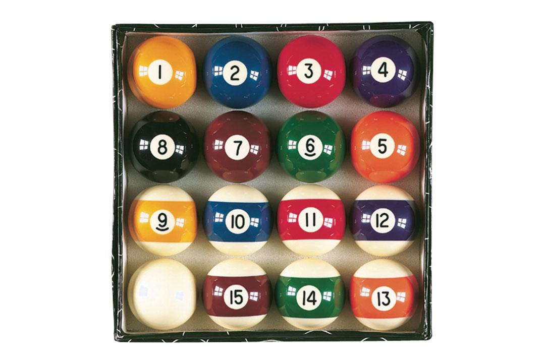 """Viper Billiard Master 2-1/4"""" Pool Balls"""