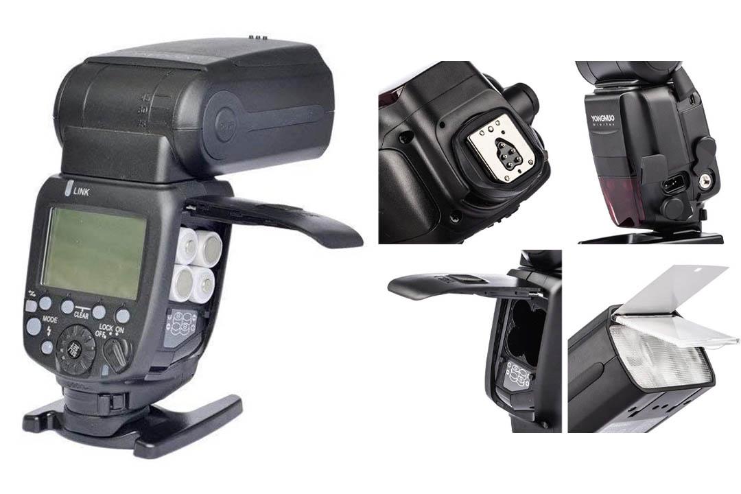 Yongnuo Updated YN600EX-RT II Flash Speedlite for Canon's 600EX-RT/ST-E3-RT Wireless Signal Camera