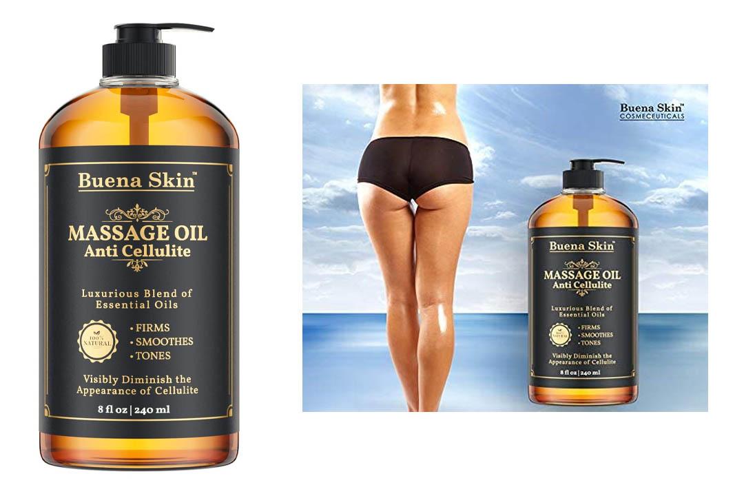 Anti Cellulite Massage Oil Treatment