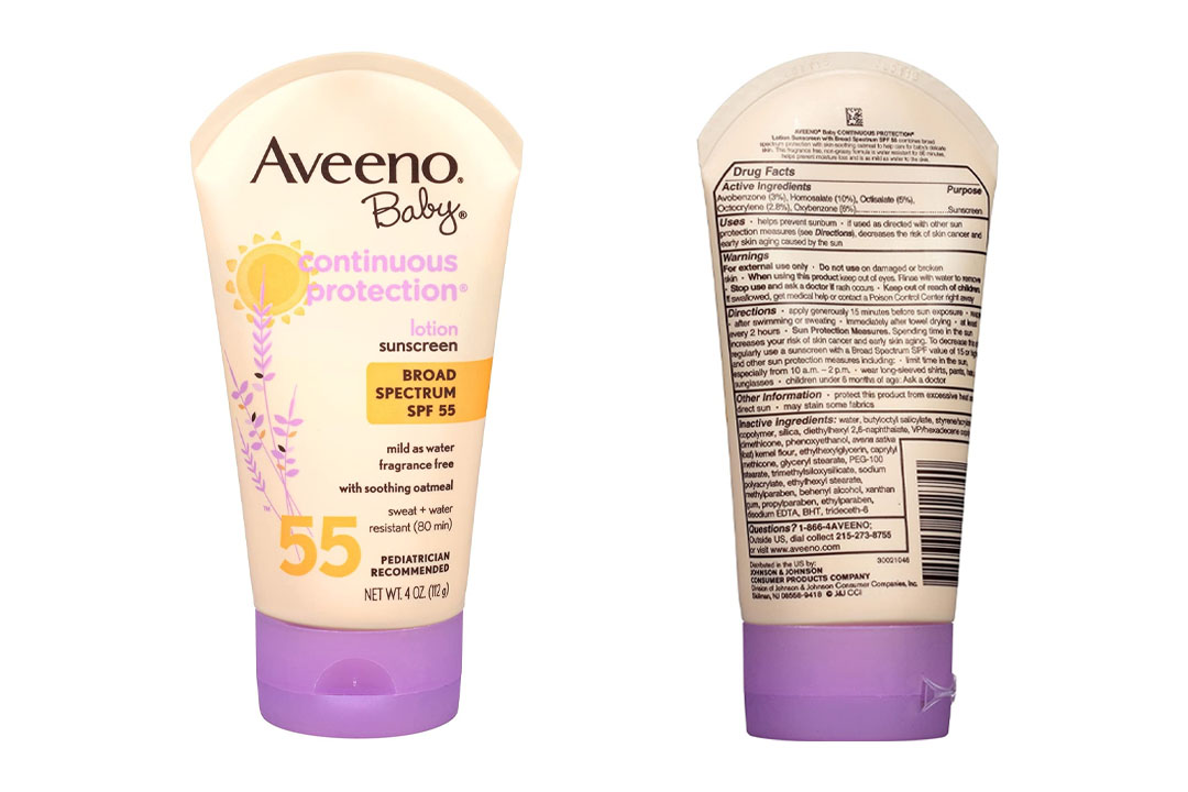 Aveeno Baby Sunscreen Lotion