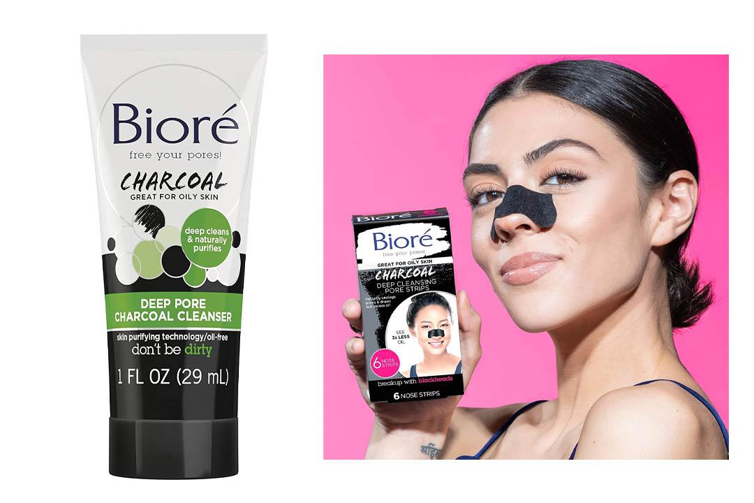 Bioré Deep Cleansing Charcoal Pore Strips (6 Count)