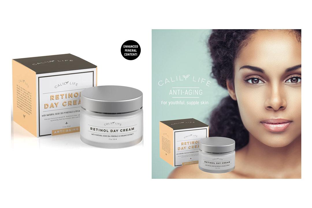 Calily Life Organic Anti-Aging Retinol Day Cream