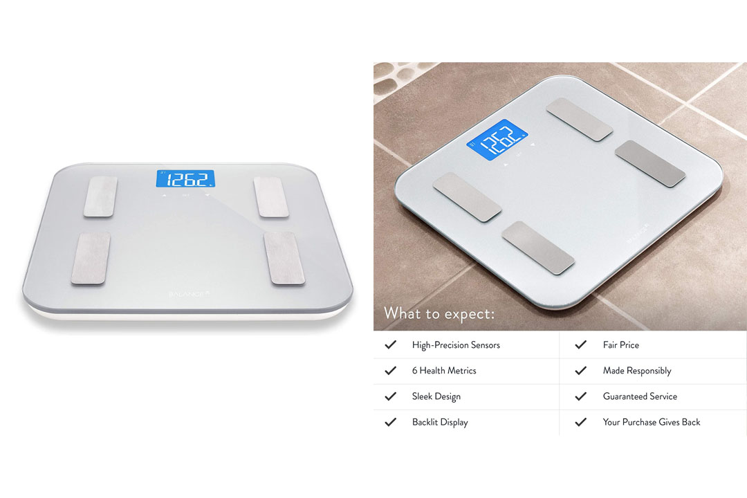 Greater Goods Brand Balance High Accuracy Body Fat Scale