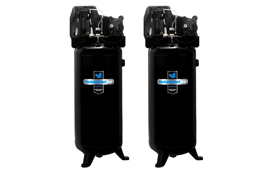 Industrial Air ILA3606056 Cast Iron Twin Cylinder Air Compressor