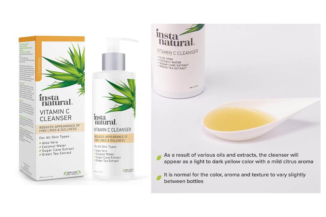 InstaNatural Vitamin C Facial Cleanse