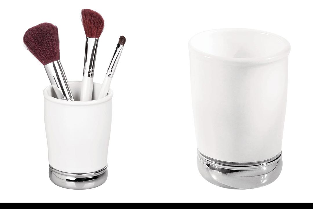 InterDesign York Bath Collection, Tumbler Cup for Bathroom Vanity Countertops
