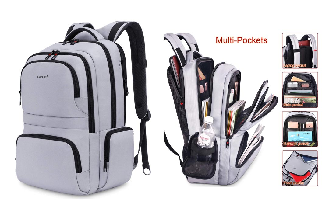 Kuprine Water Resistant Lightweight Laptop Backpack