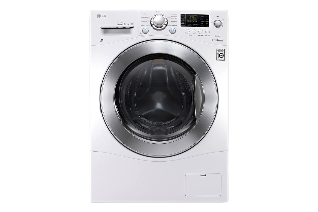 LG WM3477HW - 2.3 Cu. Ft. White Electric Washer/Dryer Combo