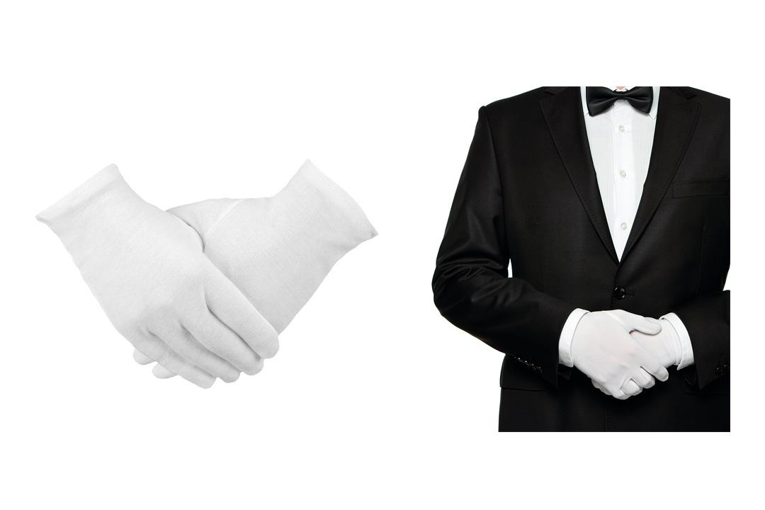 Madholly 12 pairs Moisturizing Cotton Gloves