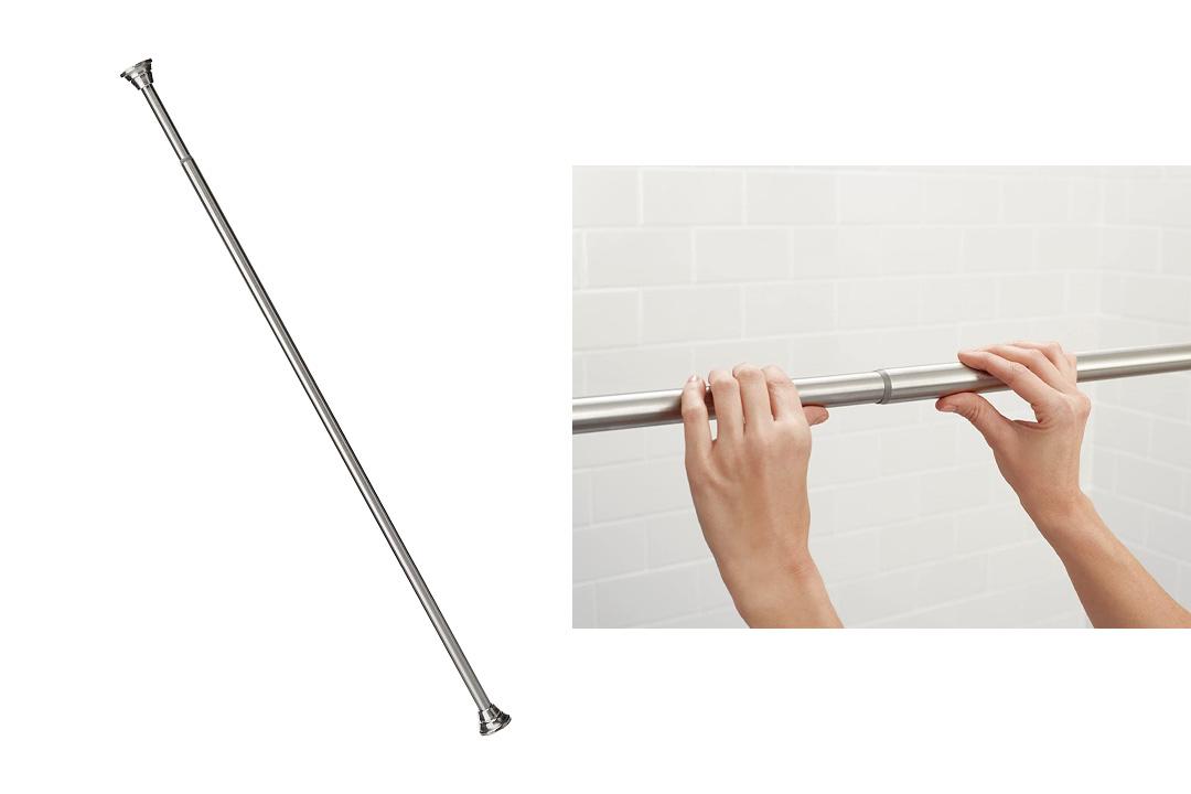 Moen TR1000BN Tension Rod, Brushed Nickel