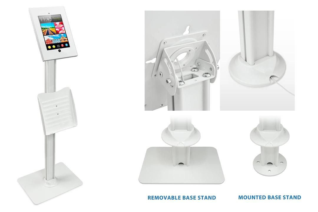 Mount-It! MI-3770 Tablet Stand iPad POS Kiosk Mount Floor Standing Tablet Holder