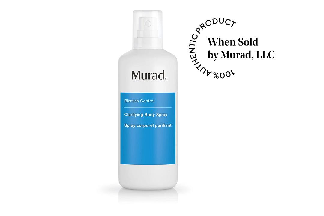 Murad Acne Clarifying Body Spray, Step 2