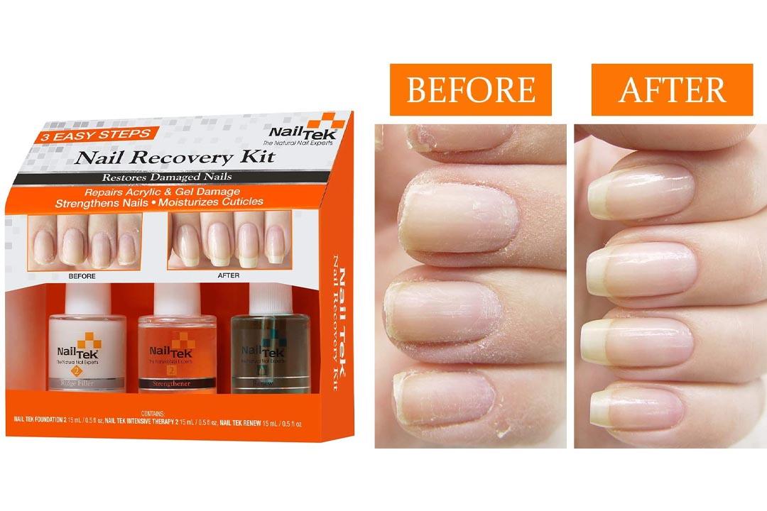 Nail Tek Nail Recovery Kit Restore Damaged Nails