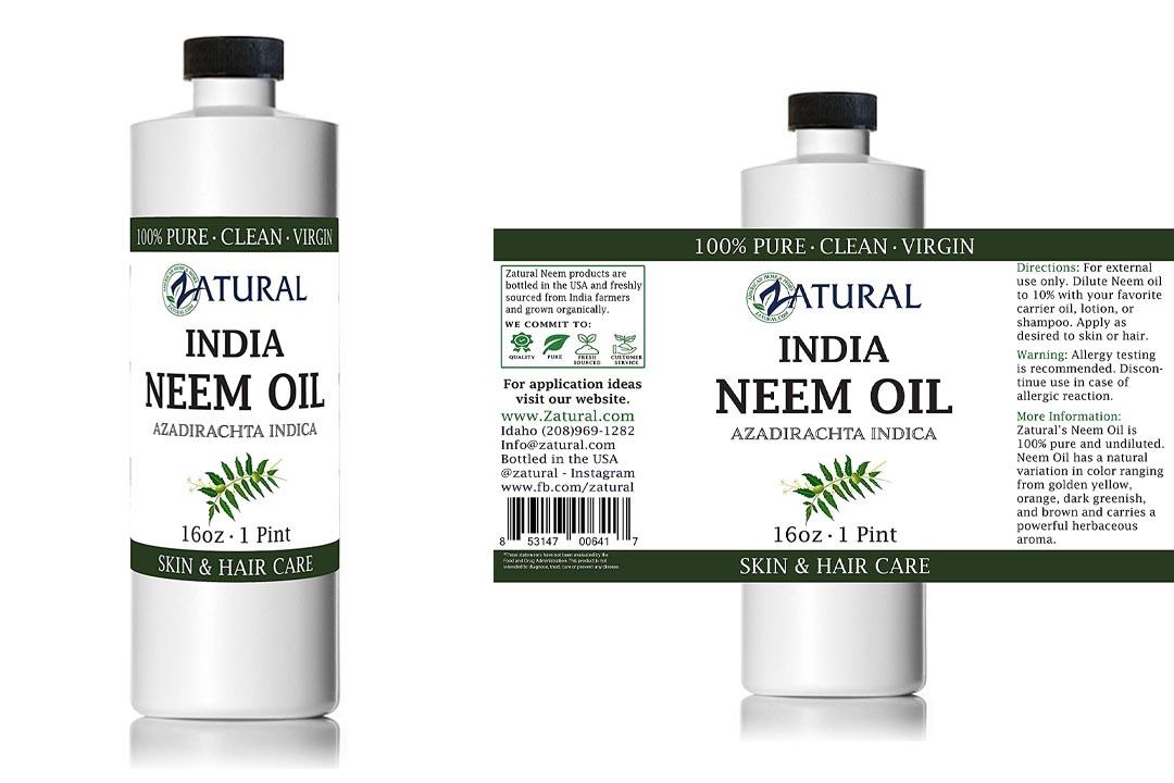 Naked Neem Organic Oil