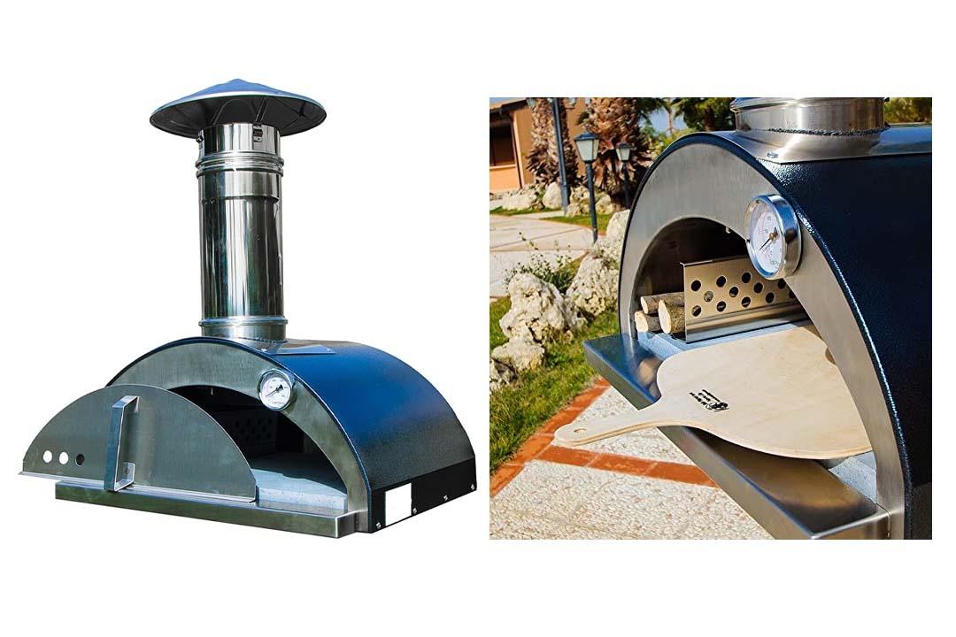 Necessories Nonno Lillo Wood-Fired Outdoor Pizza Oven